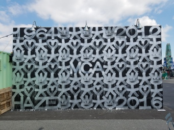 Eric Haze - MCA Mural - Coney Island, New York