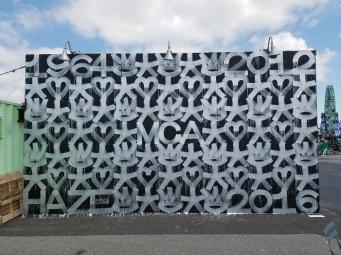 Eric Haze - MCA Mural - Coney Island, New York