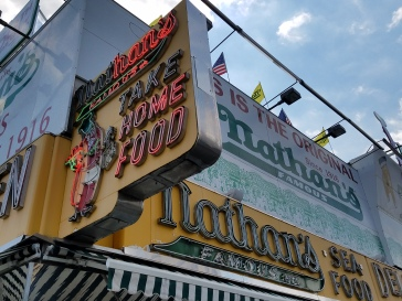 Nathan's Hotdogs - Coney Island, New York