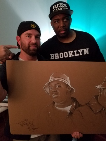 Andy Katz and Erick Sermon