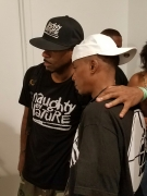 Kay Gee (Naughty by Nature) and Professor Griff (Public Enemy)