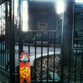 The Adam 'MCA' Yauch Tribute Deck at Adam Yauch Park