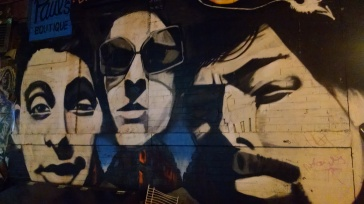 Beastie Boys Mural - Rivington and Ludlow - NYC - by Danielle Mastrion