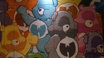 Wu Tang / Care Bear Mural - NYC