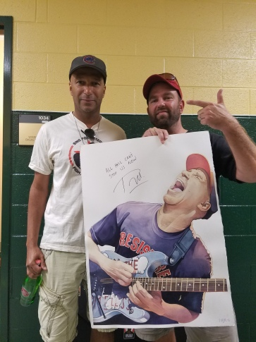 Tom Morello and Andy Katz - photo credit: Mr. Chuck D