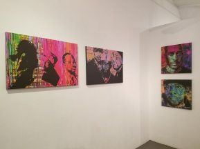 """Askem's """"Art You Can Hear"""" section of the gallery"""