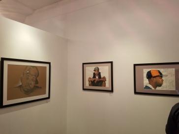 My little corner of the gallery!