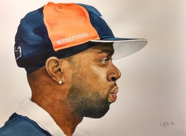 The ever-evolving J Dilla watercolor